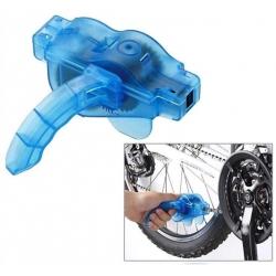 Specialus dviračio grandinės valymo ir sutepimo prietaisas