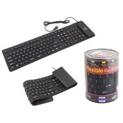 Silikoninė klaviatūra USB