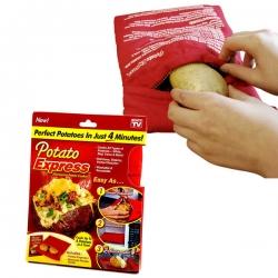 """Daugkartinio naudojimo bulvių kepimo maišelis """"Potato Express"""""""