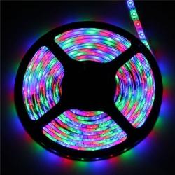 LED juosta su pulteliu, transformatoriumi, atspari vandeniui 5M