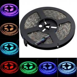 LED RGB juosta 5M 16 spalvų