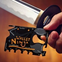 """wallet ninja"" įrankių kortelė 18in1"