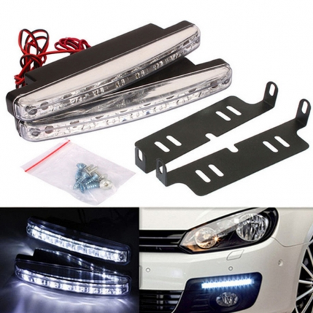 LED dienos žibintai automobiliui