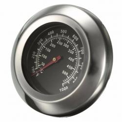 Grilio, rūkyklos termometras su sriegiu