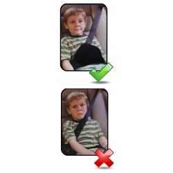 Saugos diržo reguliatorius vaikams