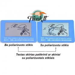Poliarizuotų akinių testas