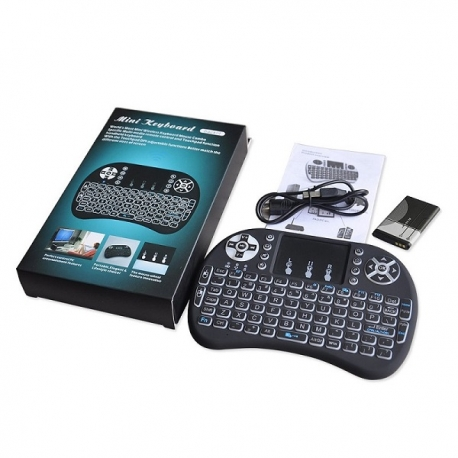 Mini bevielė TV klaviatūra