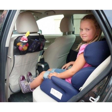 AUTO sėdynės apsauga (trys kišenėlės)