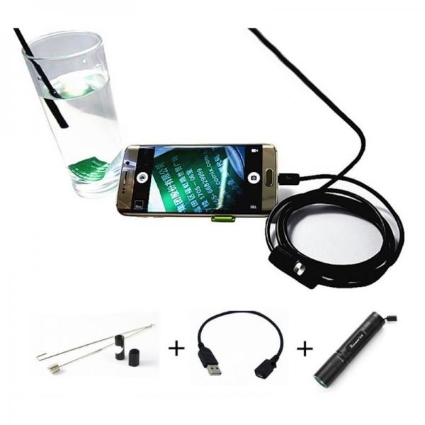 Endoskopinė Kamera 7.0MM Telefonams 5M