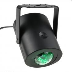 LED ŠVIESOS EFEKTAS Su valdymo pulteliu