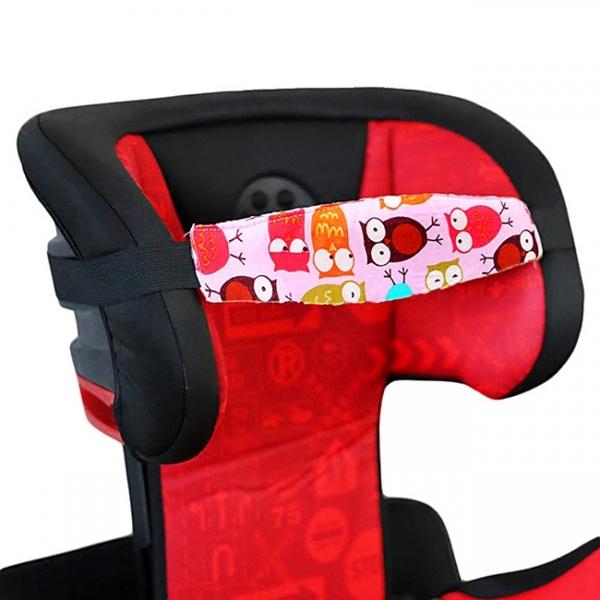 Juosta palaikanti vaiko galvą automobilinėje kėdutėje