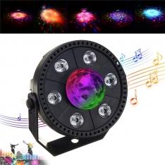 Šviesos efektas 6 LED + DISCO