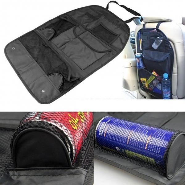 AUTO sėdynės apsauga (šešios kišenėlės)