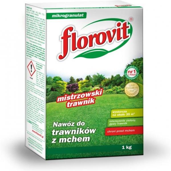 Granuliuotos trąšos vejai Florovit, 1KG