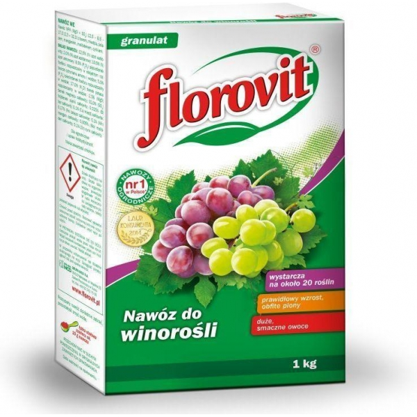 Granuliuotos Trąšos Vynuogėms Florovit, 1KG