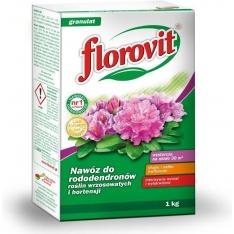 Granuliuotos Trąšos RODODENDRAMS Florovit, 1KG