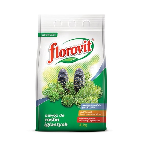 Granuliuotos Trąšos SPYGLIUOČIAMS Florovit, 3KG
