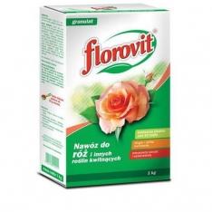 Granuliuotos Trąšos ~Rožėms Florovit, 1KG