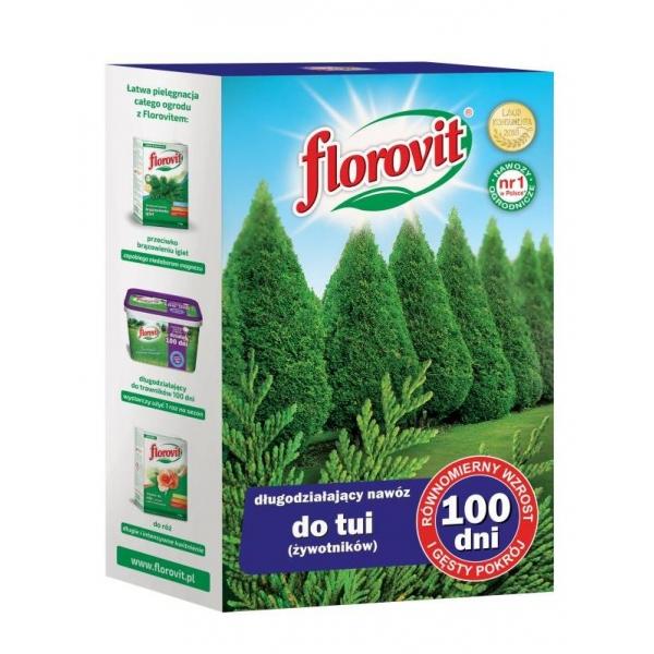Granuliuotos Trąšos spygliuočiams Florovit, 1KG 100 dienų