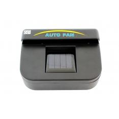 Automobilinis ventiliatorius su saulės baterijomis