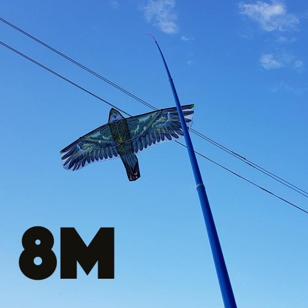 Paukščių baidyklė + kotas 8M