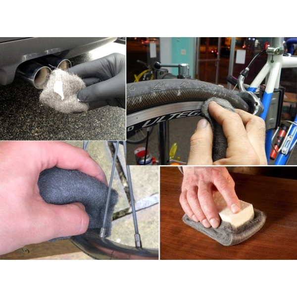 Plieno vilna, metalo poliravimui