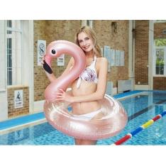 """Plaukimo ratas su blizgučiais """"Flamingas"""""""