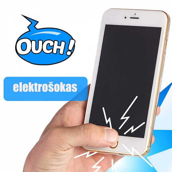 Elektrošokas Tikras Pokštas - Telefonas