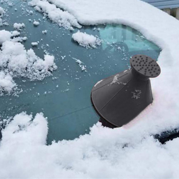 Ledo grandiklis automobilio stiklams