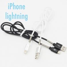 IPHONE Lightning laidas su apsauga