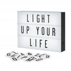 Šviečianti LED lenta (30 x 22 cm)