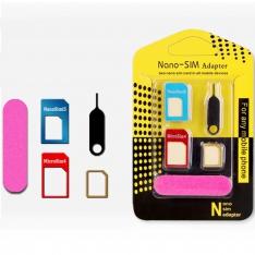 SIM kortelių adapterių rinkinys