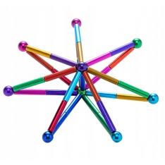 Magnetinis konstruktorius 72 dalys