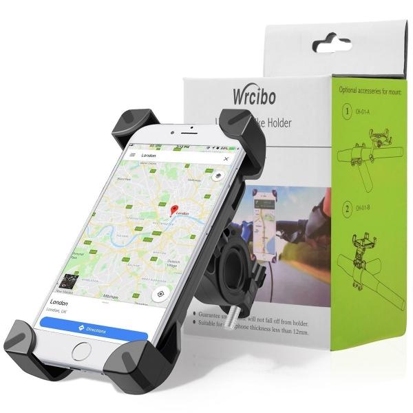 Telefono laikiklis ant dviračio vairo