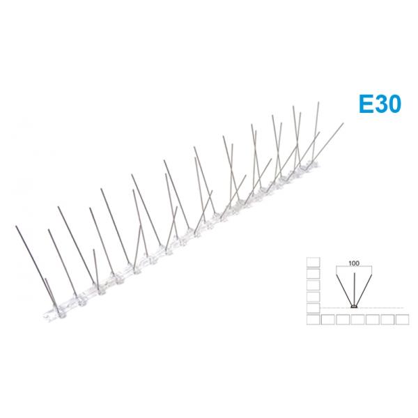 Spygliai paukščiams atbaidyti 50x11x2,2cm