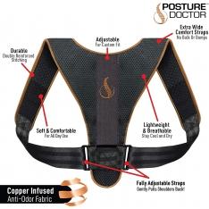 Korekcinis diržas nugaros laikysenai