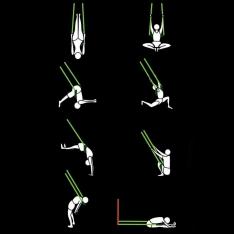 Jogos kūno tempimo diržas