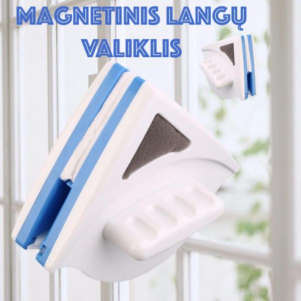 Magnetinis langų valiklis