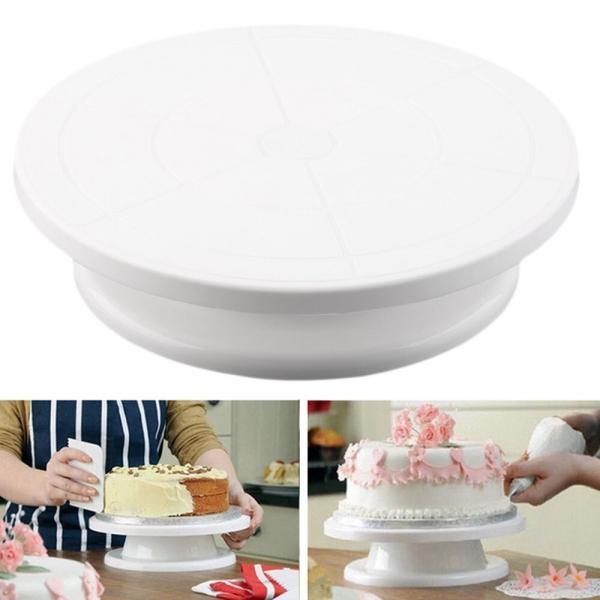Besisukanti plokštė tortams gaminti