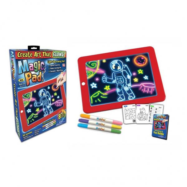 Magic Pad šviečianti piešimo lenta