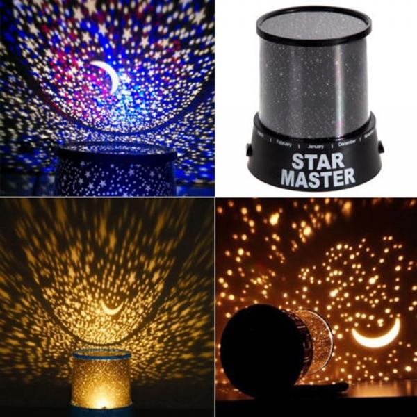 ,,STAR MASTER'' naktinė lemputė