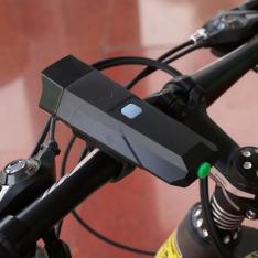 Dviračio žibintuvėlis su garso signalu