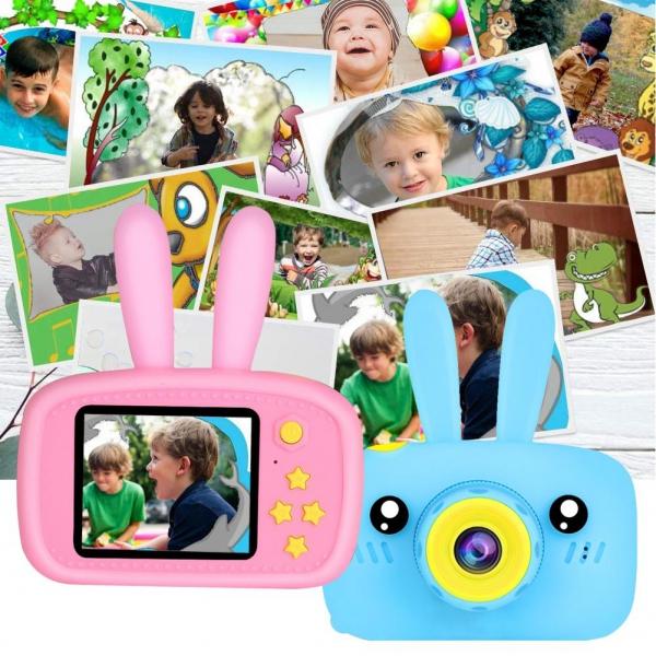 """Vaikiškas Fotoaparatas """"Kiškiukas"""""""