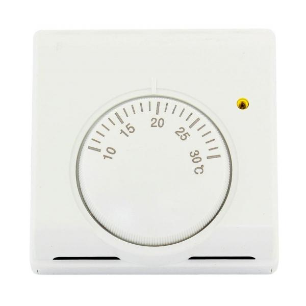 Kambario termostatas, temperatūros reguliatorius.