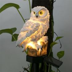 LED sodo lempa pelėdos formos