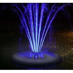 Fontanas su saulės baterija