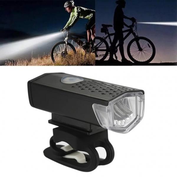 Įkraunamas dviračio žibintuvėlis