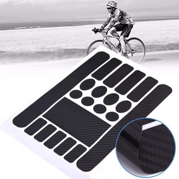 Lipdukai dviračio rėmo apsaugai