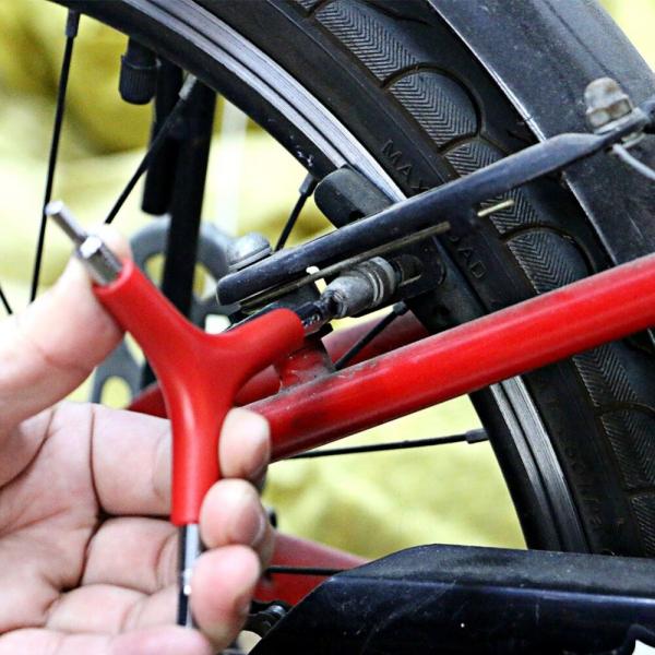 Trikampis raktas dviračiams