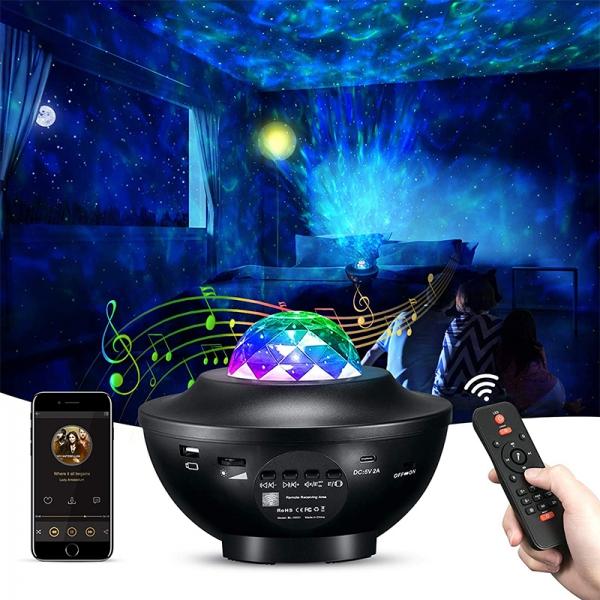 LED projektorius su lazeriu